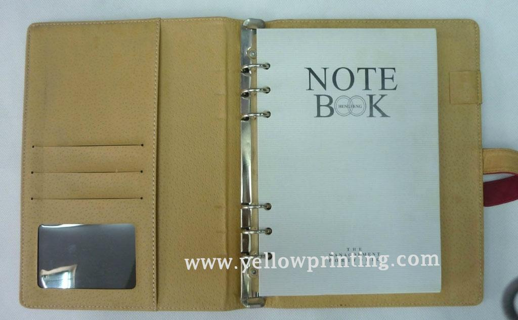 Customized Leather Cover for Agenda/Journal/portfolio