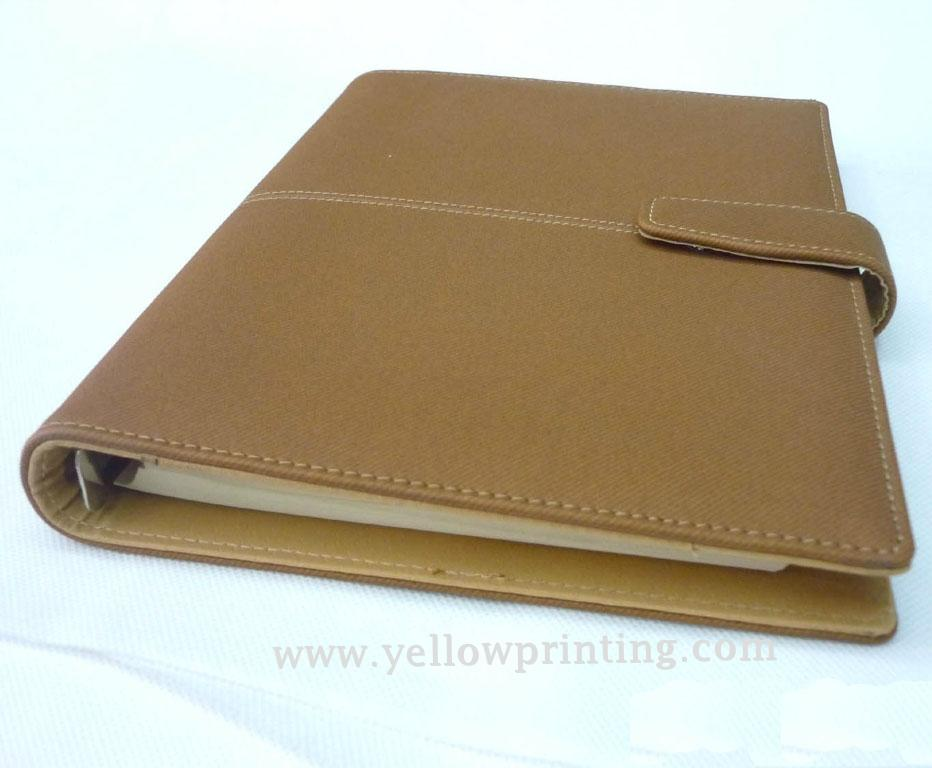 Customized portfolio Leather Cover