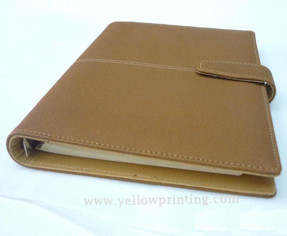 Customized portfolio Leather Cover