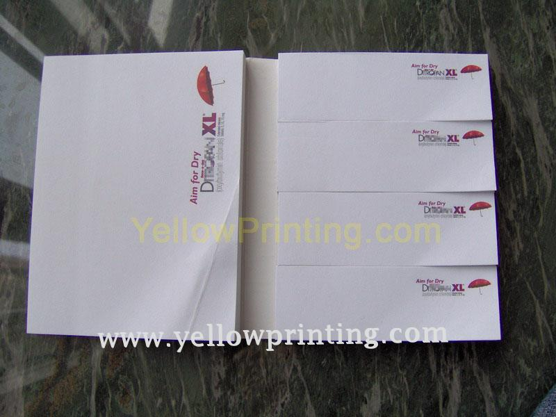 Paper sticky note printing