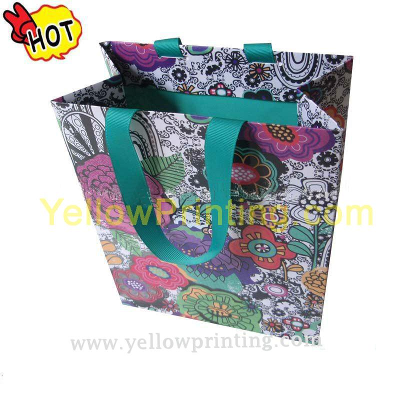 Wedding gift paper bag printing