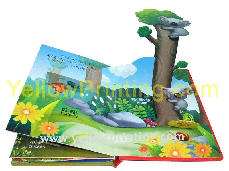 Pop up book printing