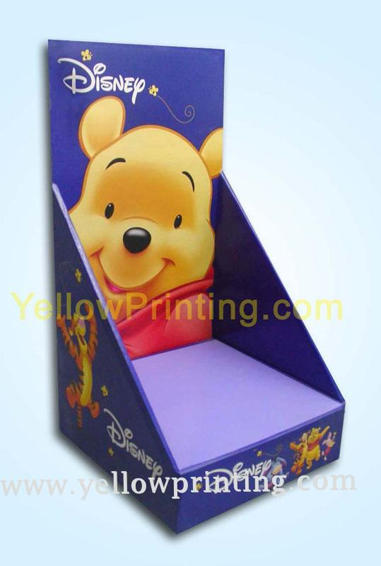Cardboard display box for toys