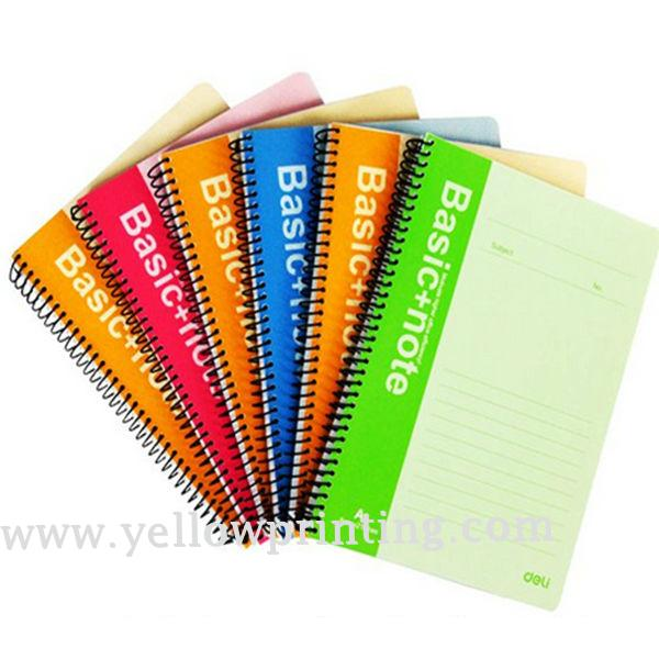wire-o note book with ball pen