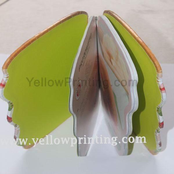 Hardcover bread shape book printing