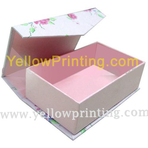 Side open Paper rigid box