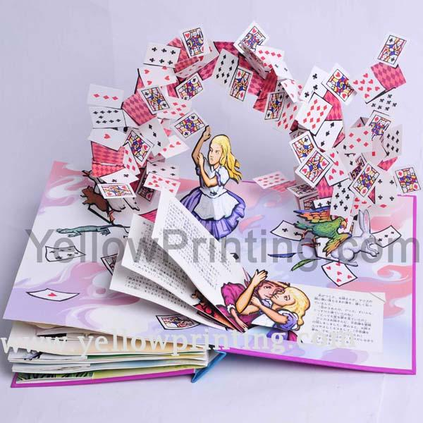 Pop up children book printing