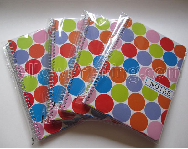 Spiral Note Book with OPP Bag