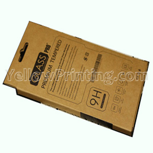 Kraft Paper Packaging Box For Mobile Phone