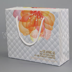 White Kraft Shopping Paper Bag Manufacturers