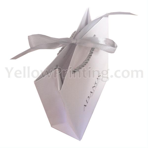 Butterfly Ribbon Closing Shopper Bag