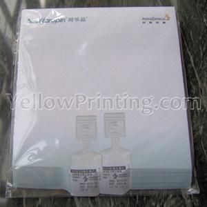 3D Bevel  Memo Pad Printing