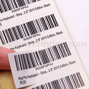 Barcode Label Sticker Printing Factory