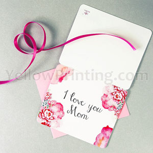 Paper Greeting Card With Envelope