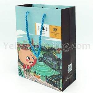 Custom Design Paper Bag Printing in China