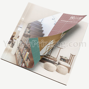 China Brochure Printing On Demand Customized Design