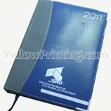 Diary Notebook Printing: Thread sewn leather cover notebook