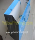 Company logo paper shopping bag