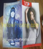 Popular magazine printing