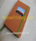 Note book with custom design