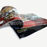Catalogue printing with company logo