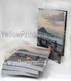 Paper back binding book printing