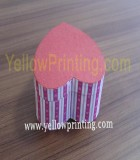Heart shape paper box design