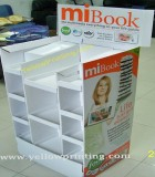 Supermaket paper stand display