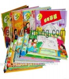 Children's coloring book printing