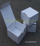 Corrugated packaging box printing