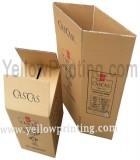 Paper wine box printing