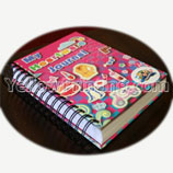 Wire Binding Coil Binding Note Book Printing