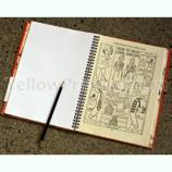 Spiral Notebook With Custom Printing