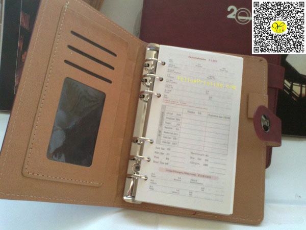 Customized Leather Cover for Agenda