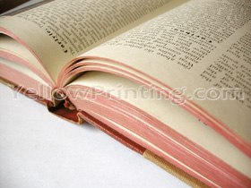 hardcover binding case cover binding book