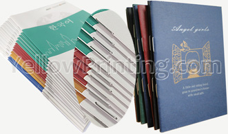 saddle stitch binding story book printing
