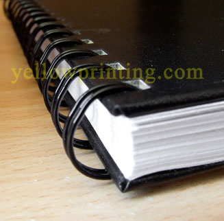 wire o binding book printing