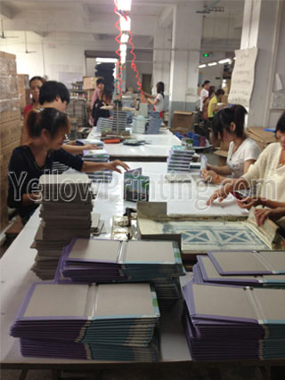 China paper printing notebook supplier