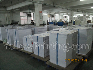 paper books printing factory