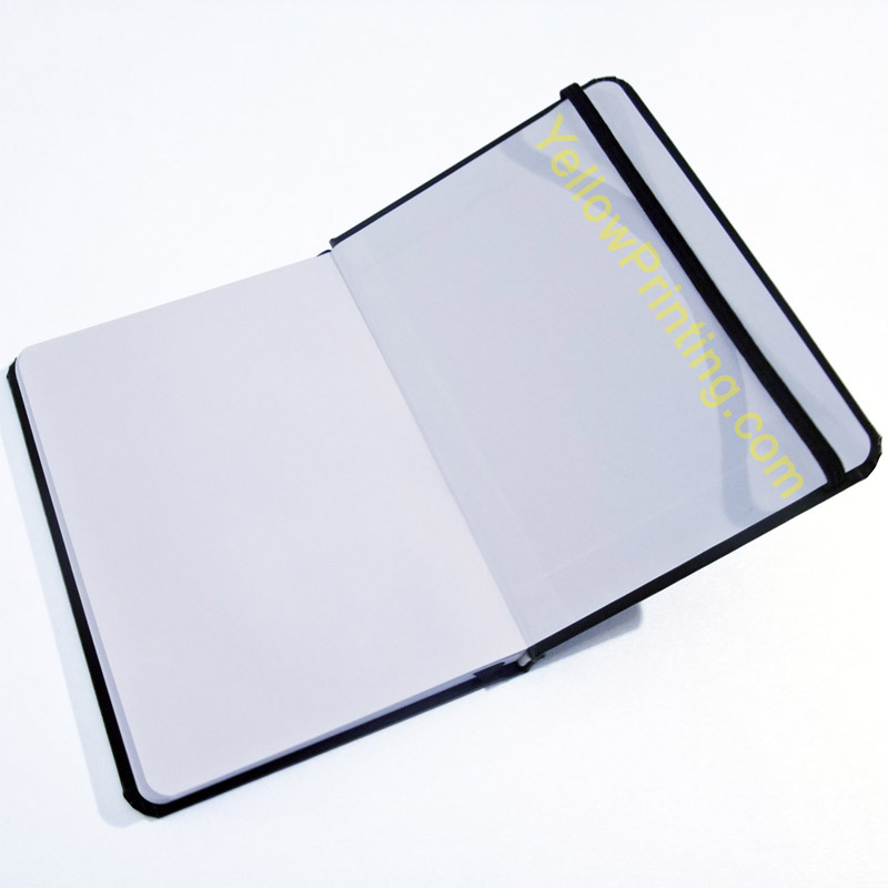 Agenda notebooks with elastic band