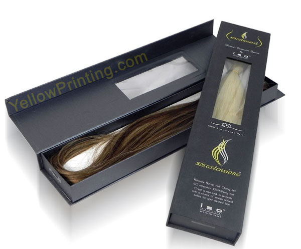 Hair Extensions Packaging Box