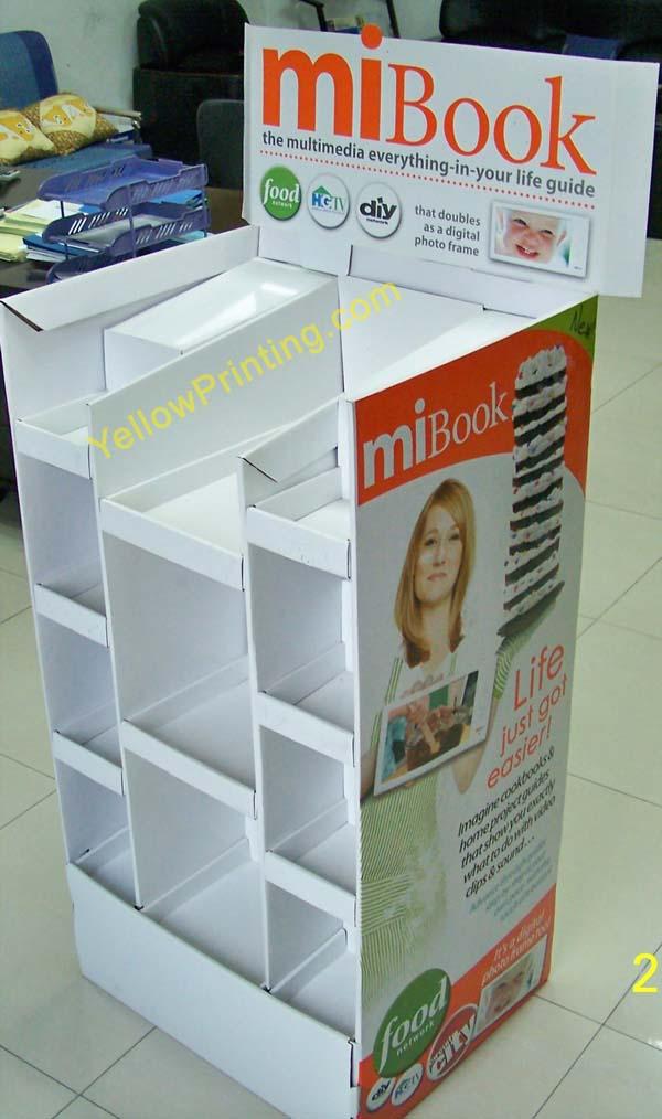supermaket paper stand display