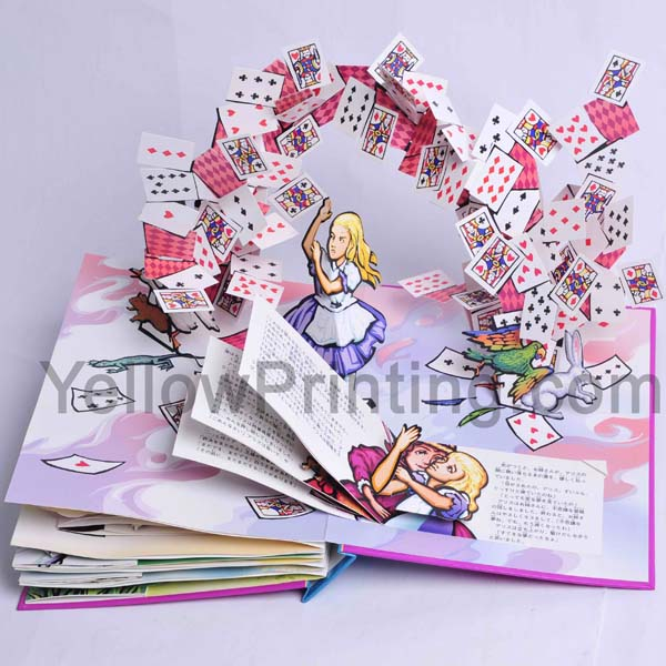 pop up children book