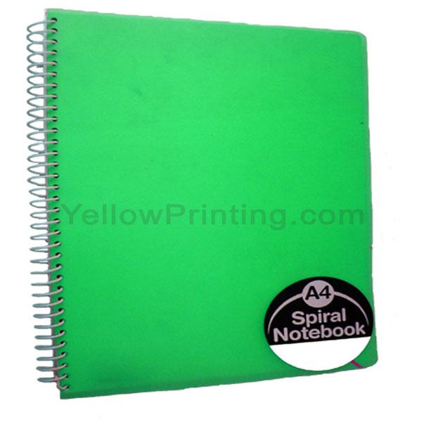 PP Cover Spiral Note Book