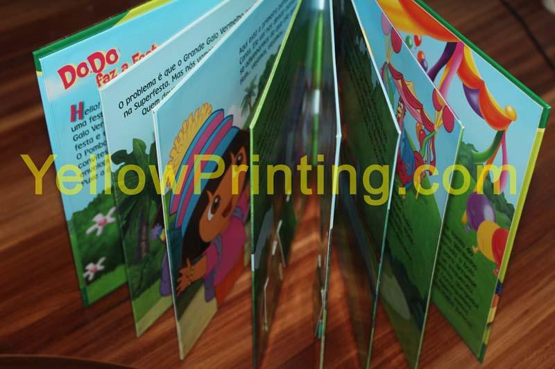 Children pull tab book