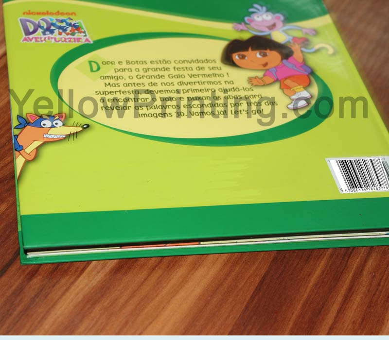Pull tab book for children