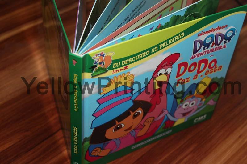 kids pull tab book