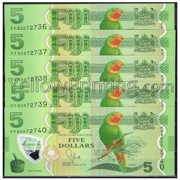 Fiji Currency printing