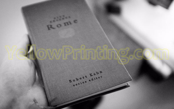 hardcover paper book