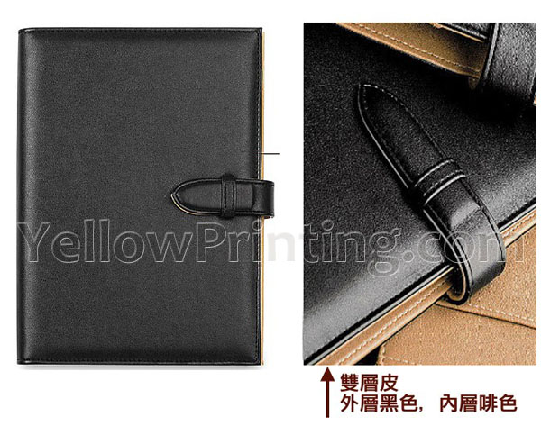 A5 Note Book Leather Cover